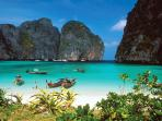 Spectacular Scenery, Beaches and Swimming in Phang Nga Bay