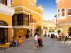 La Torre town centre with bars & restaurants