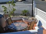 Patio set for al fresco dining or just a pleasant G&T
