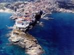 Chora Andros, 15 mins away by car
