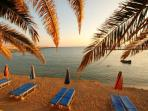 Relax on Coral Bay's Sandy Blue Flag Beaches