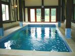 Heated Indoor  Swimming Pool in converted barn