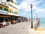 Corralejo harbour area