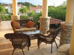 Large full width balcony