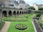 The ancient port town of Vannes - 1 hour away