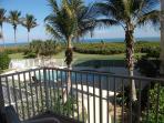 Overlooking pool/hot tub