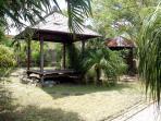 gazebo du jardin tropical