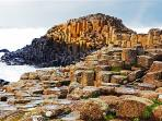 Giants Causeway 30 minutes drive away