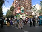 Spectacular Fallas 13 - 20 March. - starts right in the street! Enjoy Spain's best fiesta....