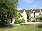 The garden is shared with Maison la Grange (2 bedrooms) neither cottage is overlooked