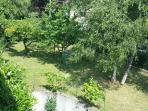 il giardino con ombra e sole