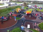 New Playground and tennis courts just across the road