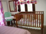 Baby cot and High chair