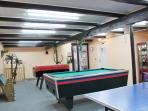 Spiel- Sport und Fitness (Tischtennis, Billard und Kicker)