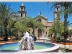 Beautiful Church Square in Nearby Torrevieja