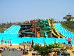 Baku Water Park conveniently located next to Oasis Royal.