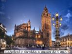 Catedral y Giralda a 3 minutos paseando