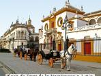 Plaza de toros La Maestranza a 7 minutos paseando