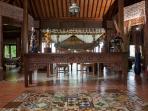 Antique style teak furniture