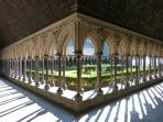 The stunning Abbey of Mont St Michel is well worth a visit