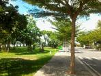The Park along the Saigon River.  It is about 200 meters from the villa.