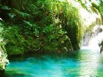 Rivière en Basse-Terre, Guadeloupe.