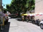 Market day, Callas