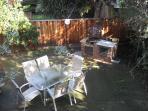 Private Fenced Backyard