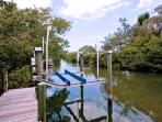 30-Foot, 7000 lb. Private Boat Lift and Dock