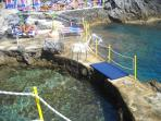 Capo di Conca beach and natural pool