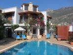 Villa Kismet from the pool