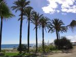 Stroll along the long coastal path between San Pedro and Marbella