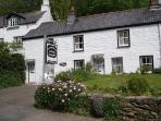 Beautiful Crumplehorn Cottage No2 - Polperro, Cornwall - With  Onsite private parking and Wi-Fi