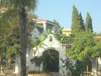 Puebla Lucia - entrance gates