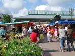 Le marché de Dinard tous les samedis