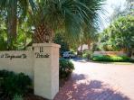 Entrance to Beach Club Villas