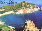 Cala Moresca, baia nelle vicinanze