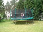 Summer Rental with Trampoline