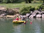 White water rafting - a fantastic day out.