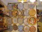 Ceramica artistica locale