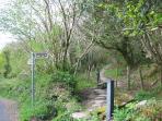 Walk on the Kerry Way marked walking trails, through forest, coastline, hills & valleys