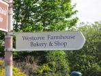 Fresh baking every day nearby