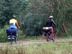 Farrad fahren macht besonders viel Spaß
