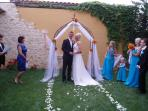 You can also have a dream wedding and honey moon at the villa!