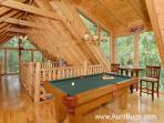Pigeon Firge Cabin with Pool Table