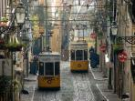 Lisbon- old trains