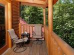 Pine Cove Hideaway #1816- Outside Deck