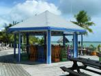 the honesty bar at the Cays