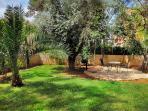 Pastoral, heavenly quiet gardens