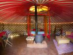 Yurt is optional to rent for older kids or visiting guests
